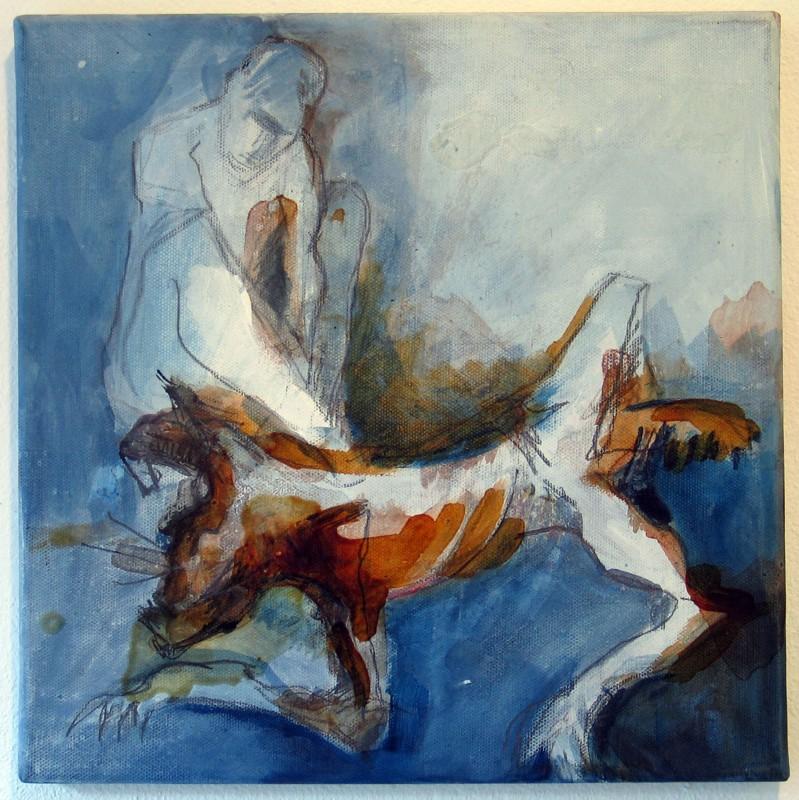 Toter Hase V von Claudia Lüke